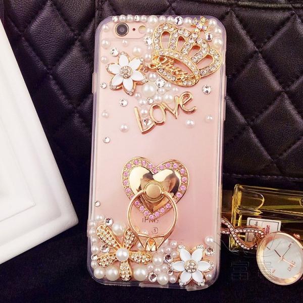 iPhoneケース アイフォンケース IPHONE8ケース IPHONE7ケース アイフォン8 アイフォン7 ケース おしゃれ 高級感演出 デコレーションケース デコケース キラキラ fuki-fashion