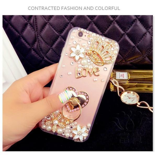 iPhoneケース アイフォンケース IPHONE8ケース IPHONE7ケース アイフォン8 アイフォン7 ケース おしゃれ 高級感演出 デコレーションケース デコケース キラキラ fuki-fashion 03