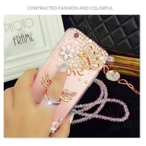 iPhoneケース アイフォンケース IPHONE8ケース IPHONE7ケース アイフォン8 アイフォン7 ケース おしゃれ 高級感演出 デコレーションケース デコケース キラキラ fuki-fashion 04