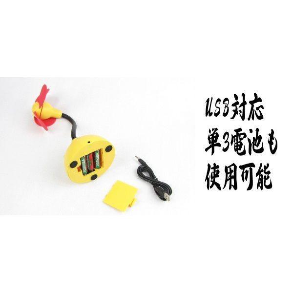 卓上扇風機 USB対応 ミニ扇風機 大風量ソフト羽根USB卓上扇風機 高容量アルカリ単3電池8個セット 卓上 小型扇風機 単3電池対応|fuki-fashion|04