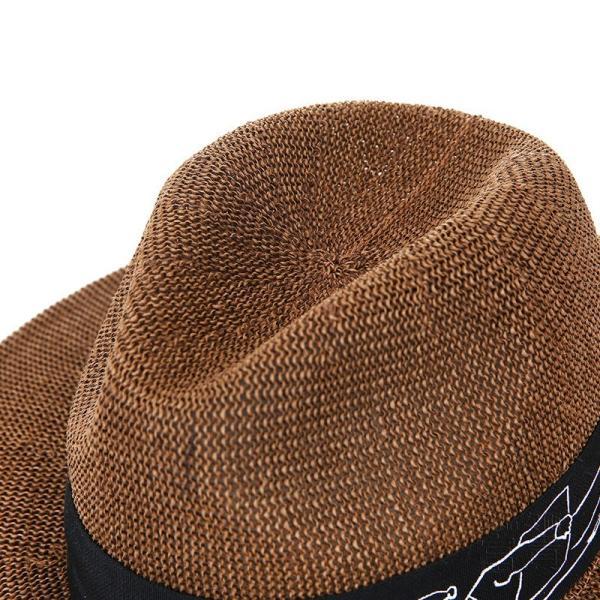 中折帽子 男女兼用 春夏秋 紫外線対策 北欧風 レトロ 紳士 プリント 通気性良い シンプル マリン 海、砂浜 地味 カジュアル コーディネートしやすい|fuki-fashion|08