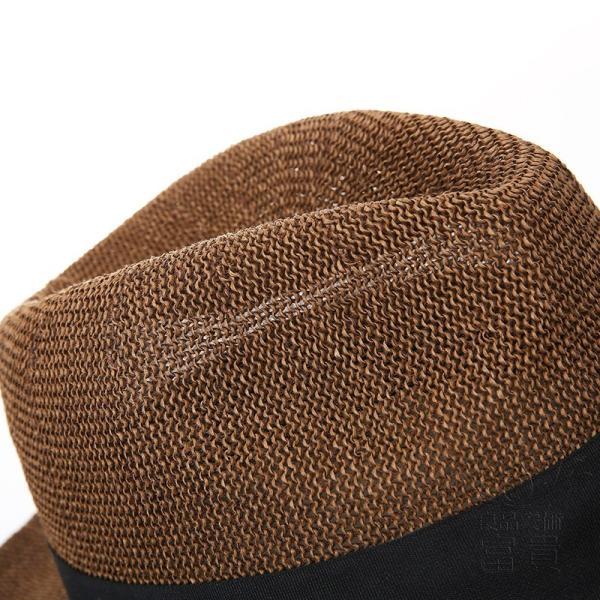 中折帽子 男女兼用 春夏秋 紫外線対策 北欧風 レトロ 紳士 プリント 通気性良い シンプル マリン 海、砂浜 地味 カジュアル コーディネートしやすい|fuki-fashion|10