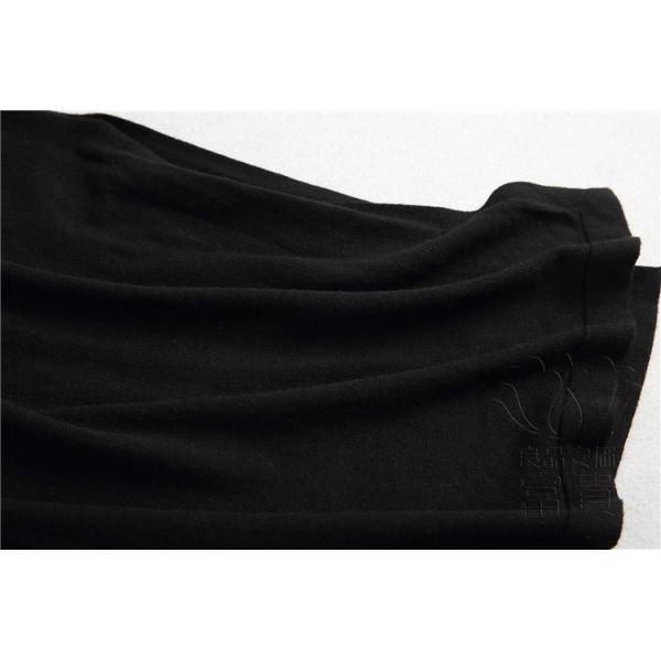 ニット セーター スカート レディース ノースリーブ ワンピース ジャンバー 無地 Vネック 体型カバー 通勤 フェミニン|fuki-fashion|05