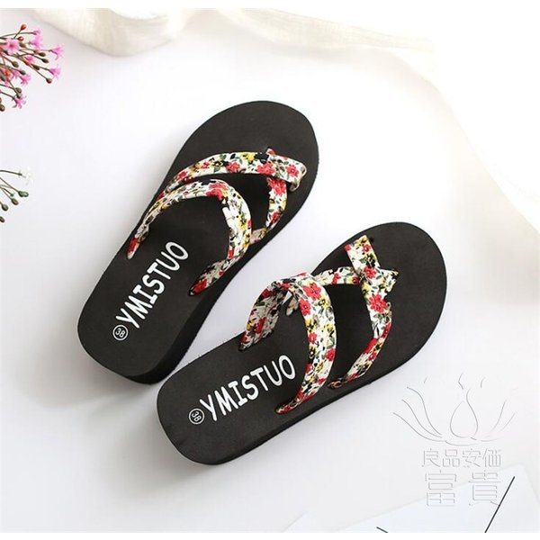 サンダル サムループ・サンダル ビーチサンダル 靴 厚底 花柄 可愛い 履きやすい ビーサン  滑り止め 痛くない オシャレ 新作 楽ちん カジュアル 履き心地|fuki-fashion|10