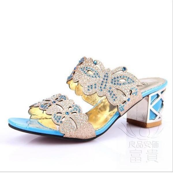 サンダル ヘップ・サンダル ミュール 靴 パンプス ミディアムヒール 太ヒール 軽い 歩きやすい キラキラ オフィス 滑り止め 履き心地  痛くない|fuki-fashion|06