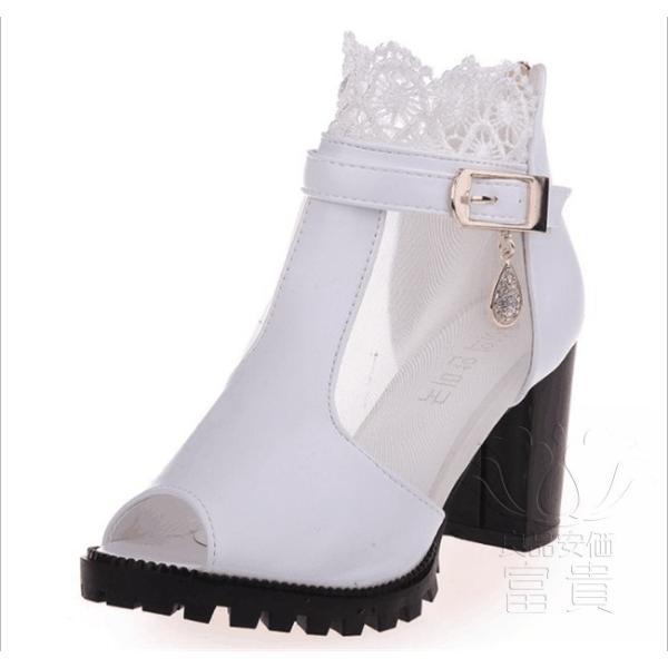 サンダル ハイヒール オープン トー 靴 ウェッジ オシャレ 滑り止め 美脚 オフィス デザイン アウトドア 旅行  ブラック シンプル 歩きやすい|fuki-fashion|08