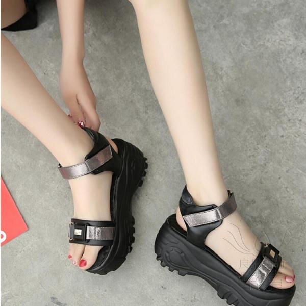 サンダル ミュール オープントゥ 靴 厚底 ハイヒール 履きやすい 柔らかい 疲れない 履き心地  レジャー用 痛くない  歩きやすい 滑り止め アウトドア|fuki-fashion