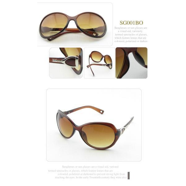 高品質 レディース サングラス UV400対応 ケース付き UVカット 紫外線カット Sunglass 女性 Ladies|fuki-fashion|04