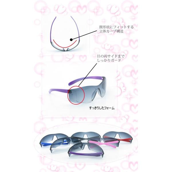 高品質 レディース サングラス UV400対応 ケース付き UVカット 紫外線カット Sunglass 女性 Ladies fuki-fashion 02