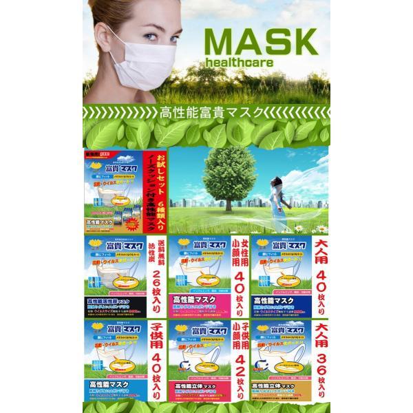 マスク サージカルマスク 使い捨て 花粉対策 インフルエンザ予防 受験用 PM2.5対策 立体マスク N95マスク(富貴マスク 大人40枚 絹感覚)薄いが高性能|fuki-lingerie|02