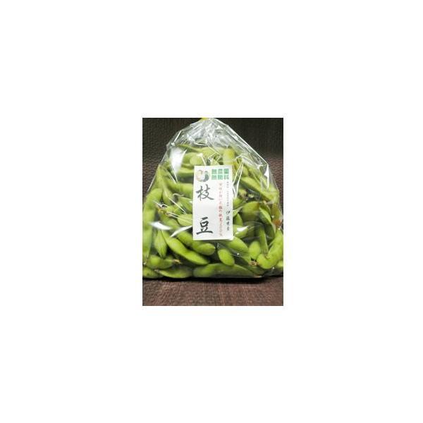 哲人秀さんの黒豆の枝豆(冷凍)(500g)