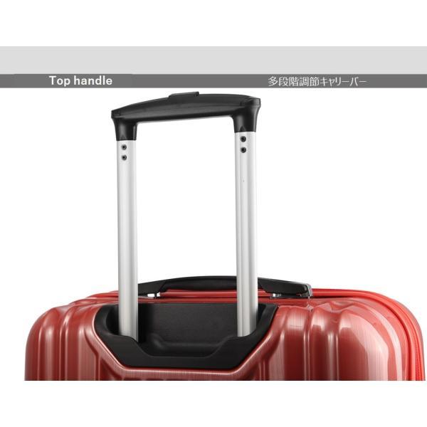 スーツケース ファスナー 拡張 機内持ち込みサイズ ダイヤルロック 40l 一泊 二泊 三泊|fuku2|06