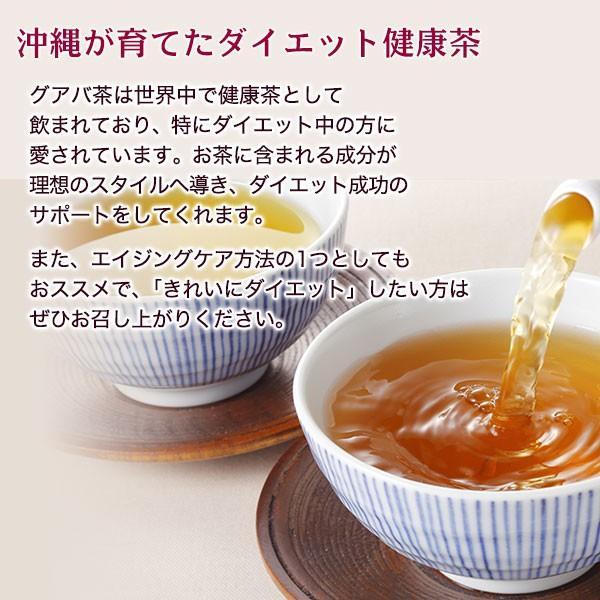 グアバ茶 グァバ茶 ノンカフェイン 国産 茶 健康茶 送料無料 ティーバッグ 50包 ふくちゃ 福茶|fukucha|02