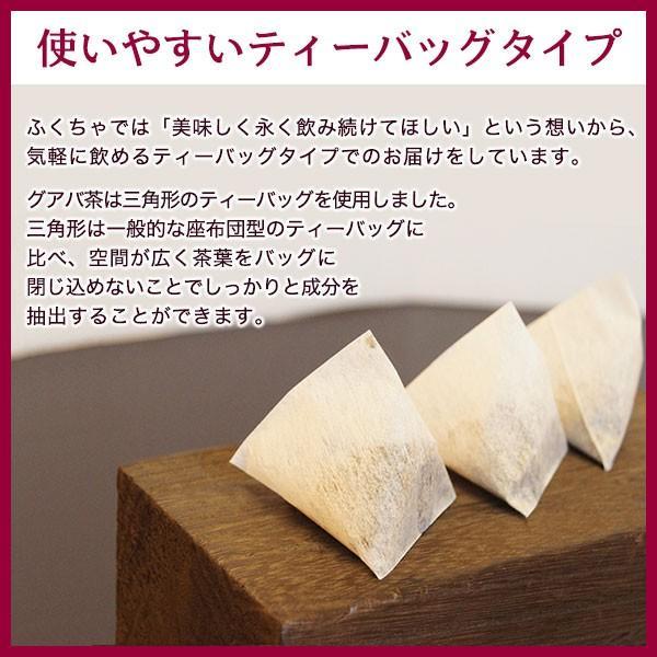 グアバ茶 グァバ茶 ノンカフェイン 国産 茶 健康茶 送料無料 ティーバッグ 50包 ふくちゃ 福茶|fukucha|06