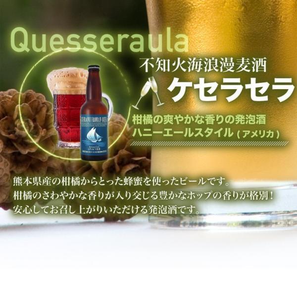 ギフト ビール ランキング 地ビール クラフトビール ギフト 3,000円 送料無料 不知火海浪漫麦酒 330ml 5本セット 熊本|fukuda-farm|04