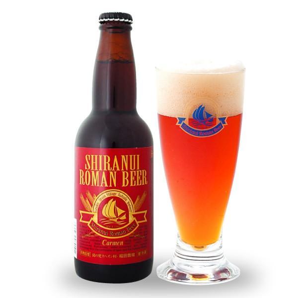 クラフトビール 不知火海浪漫麦酒 カルメン アンバーエール 330ml 熊本 クール便|fukuda-farm