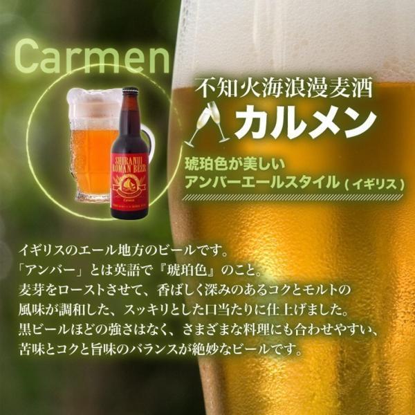 クラフトビール セール 不知火海浪漫麦酒 送料無料(東北北海道除く)カルメン アンバーエール 330ml 12本 熊本 クール便|fukuda-farm|03