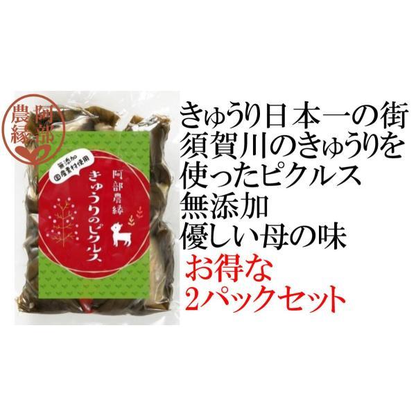 【きゅうりのピクルス150g お得な2パックセット】日本一の須賀川のきゅうりを使ったピクルス 保存料・香料を使わない安心無添加