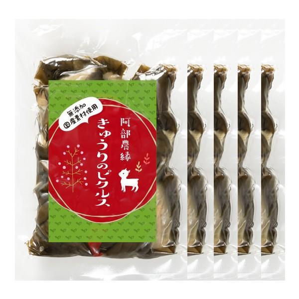 きゅうりのピクルス 150g×5個セット 国産 きゅうり 農家のお母さん達の手作りピクルス 酢漬 阿部農縁 ふくしまプライド。体感キャンペーン(その他)