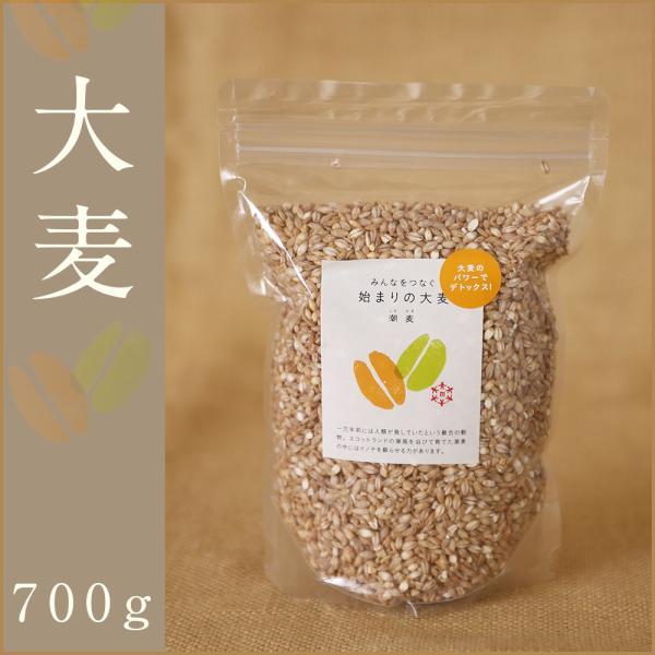 自社農園スコットランド産大麦700g潮麦 丸麦 麦ご飯 デトックス お菓子|fukui-koshino