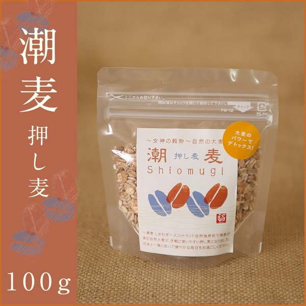 押し麦(100g)|fukui-koshino