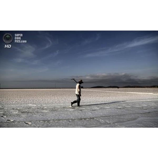 ギリシャ産無添加天日塩 すり100g 貊塩 料理やバスソルトに最適 無着色 塩 天然塩|fukui-koshino|02