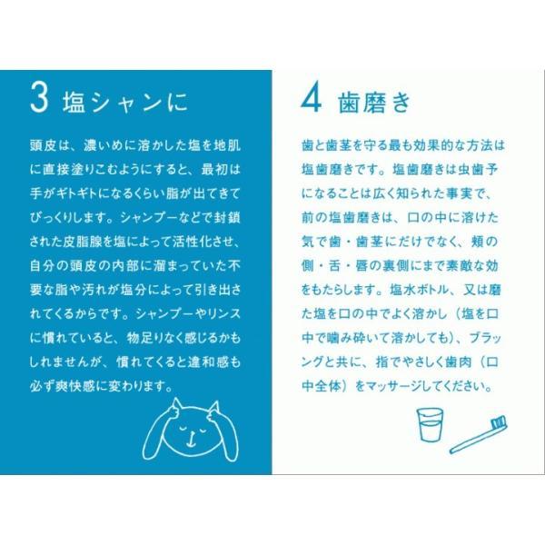 ギリシャ産無添加天日塩つぶ5kg 貊塩 料理やバスソルトに最適 無着色 塩 天然塩 fukui-koshino 07
