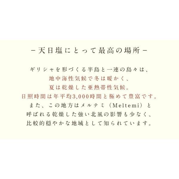 お徳用ギリシャ産無添加貊塩つぶセット(5kg×4袋)|fukui-koshino|05