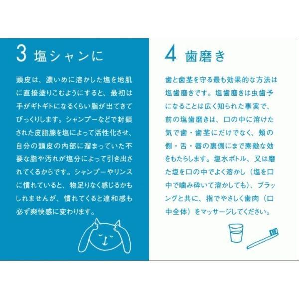 お徳用ギリシャ産無添加貊塩つぶセット(5kg×4袋)|fukui-koshino|07