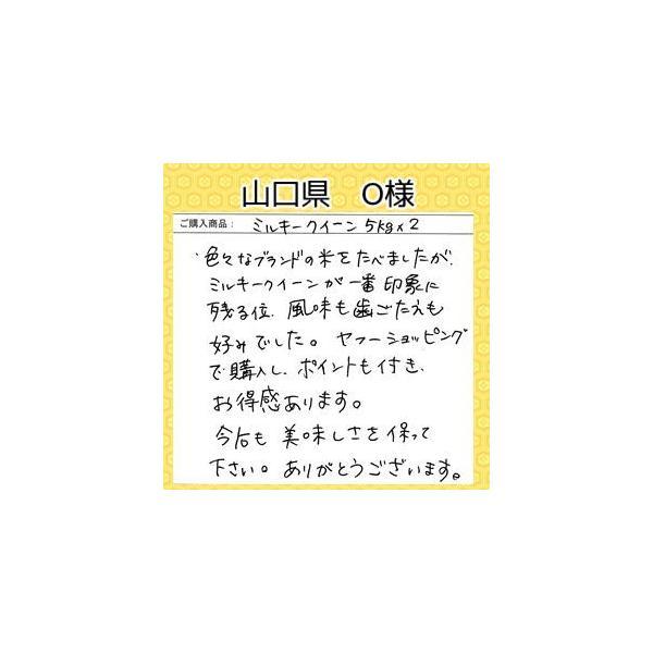 米 5kg×2本 無洗米 29年産 福井県産 ミルキークイーン 10kg 白米 送料無料 fukuikomeya 13