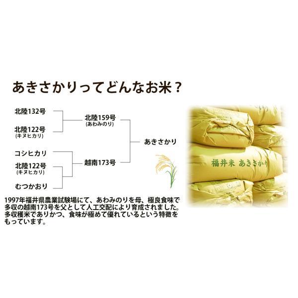 お米 無洗米 5kg あきさかり 福井県産 白米 5kg 特A 29年産 送料無料 一部地域を除く|fukuikomeya|03