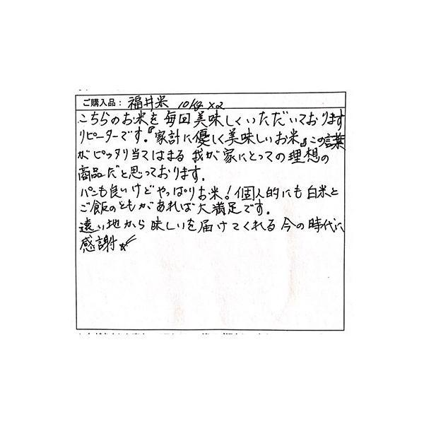 お米 10kg 福井米 福井県産 白米 10kg 送料無料|fukuikomeya|07