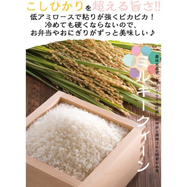 お米10kg 福井県産 ミルキークイーン 10kg(5kg×2) 白米 29年産 送料無料|fukuikomeya|02