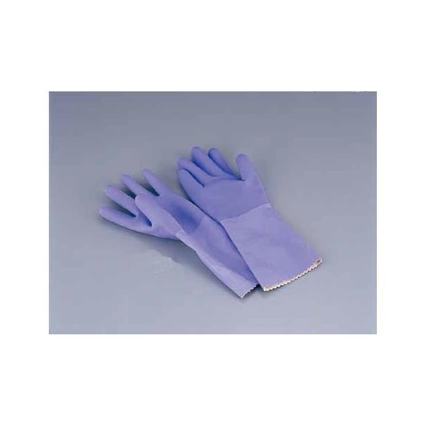ゴム手袋 L ダンロップ ゴム手袋 デジハンド ソフト(天然ゴム・裏シームレス加工)L 7-1383-0402 8-1421-0402