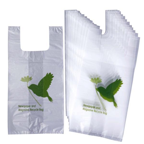 新聞雑誌回収袋30枚入(幸せの小鳥) 整理 リサイクル 片付け