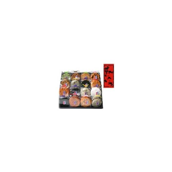 草加せんべい 草加いろいろ(16マス)×2箱 お土産 詰め合わせ お菓子