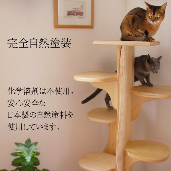 キャットツリーひぐらし 支柱1本タイプ|fukunekohonpo|04