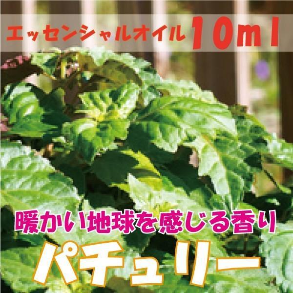 パチュリー (10ml) エッセンシャルオイル fukuoka-soleil-shop