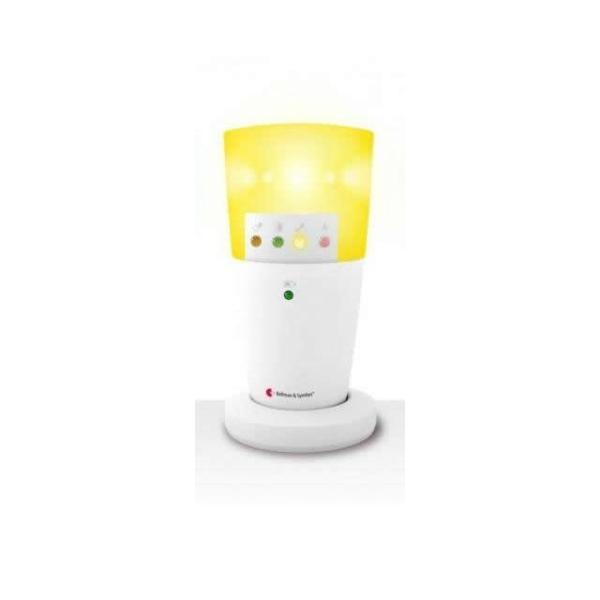 自立コム ベルマンビジットシステム フラッシュ受信器用カラーキャップ 黄 BE9166|fukushikun