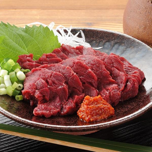 会津銘産馬肉刺身セット お中元/贈答品/ギフト/福島/送料込|fukushima-ichiba|02