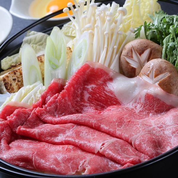 福島県産牛モモ肉すき焼き用  お歳暮/贈答品/ギフト/福島/送料込|fukushima-ichiba