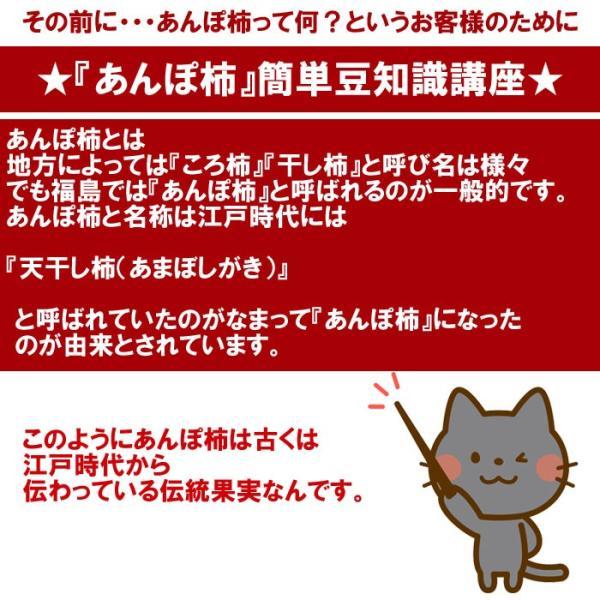 あんぽ柿300g箱(6〜8粒入) fukushimasan 03