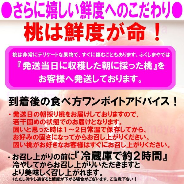 桃 福島県 献上桃の郷 桑折町産 特秀品桃 3kg箱 7玉〜12玉入|fukushimasan|05