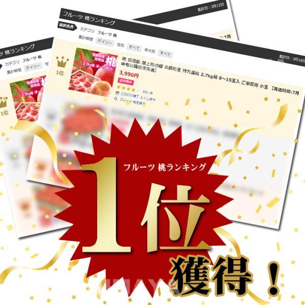 桃 福島県 献上桃の郷 桑折町産 特秀品桃 2.7kg箱 9〜15玉入|fukushimasan|02