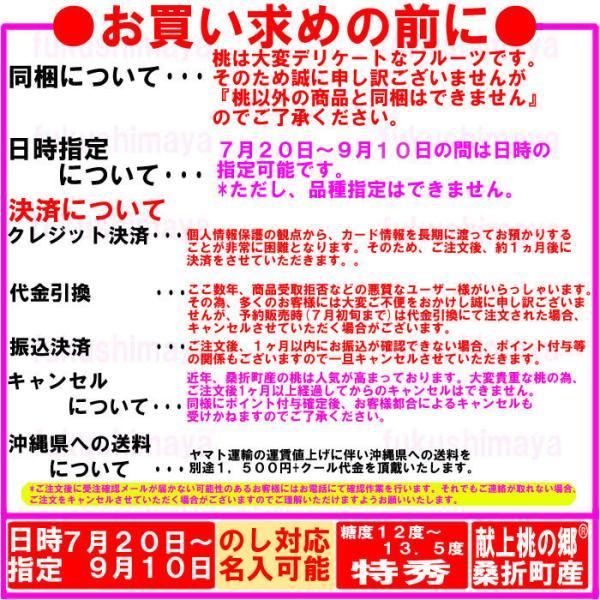 桃 福島県 献上桃の郷 桑折町産 特秀品桃 2.7kg箱 9〜15玉入|fukushimasan|08