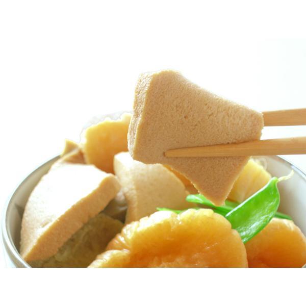 立子山 凍豆腐 (24枚入) 独特の風味と味♪ 栄養満点 高野豆腐 と同じ冬季の保存食品|fukushimasan|03