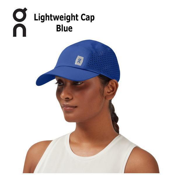 オン(On) Lightweight Cap 30100018 Blue ランニング キャップ 帽子 メンズ レディース(30100018)