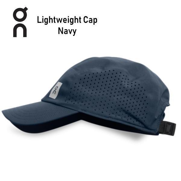 オン(On) Lightweight Cap 30100016 Navy ランニング キャップ 帽子 軽量 メンズ レディース(30100049)