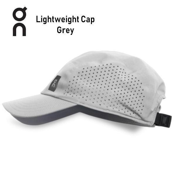 オン(On)LightweightCap30100017Greyランニングキャップ帽子(30100050)