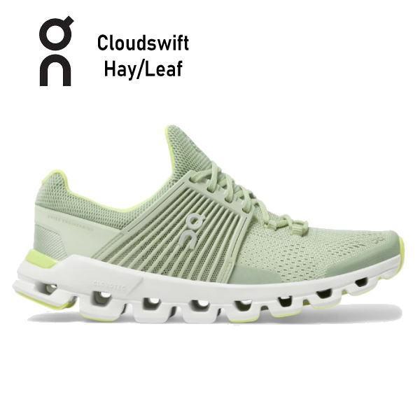 オン(On) Cloud swift Hay/Leaf 3199775W レディース クラウド スウィフト ランニングシューズ スイフト ウィメンズ(3199775w)